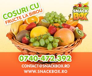 Cosuri cu fructe la birou